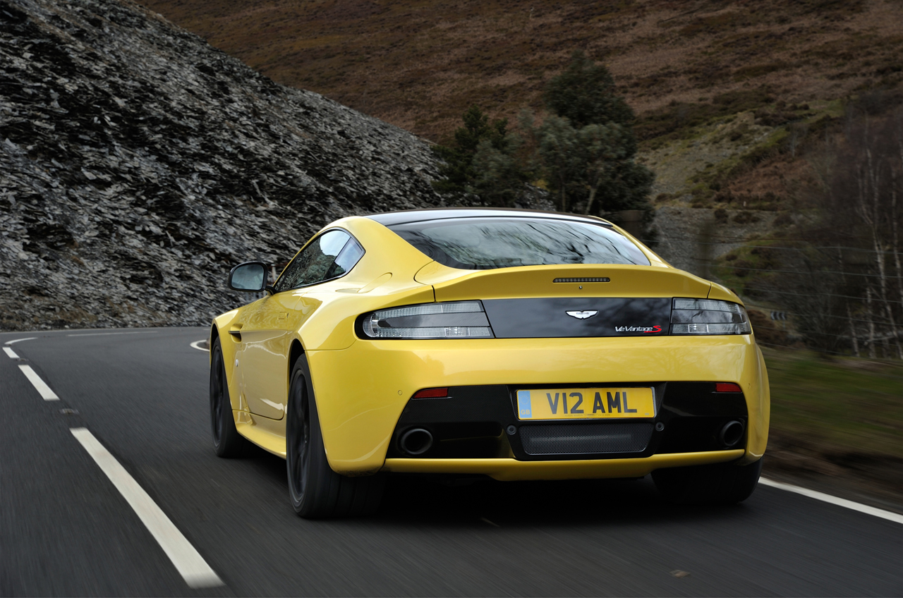 aston martin v12 vantage s rings up 565 hp 205 mph top speed. Cars Review. Best American Auto & Cars Review