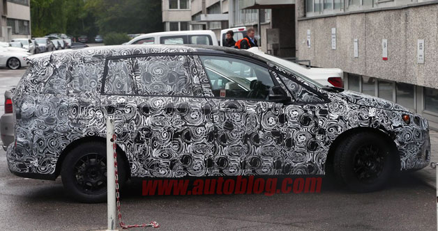 BMW 1 Series GT spied disguised in 7-seat trim