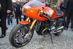 BMW Concept 90 motorcycle at Villa d'Este