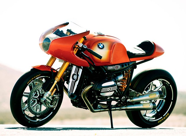 BMW Concept 90 Motorcycle - front three-quarter view