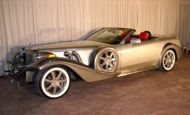 Custom 2008 Cadillac XLR Neoclassic - front three-quarter view