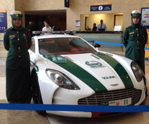 Dubai police add Aston Martin One-77 plus Bentley and SLS AMG to ...