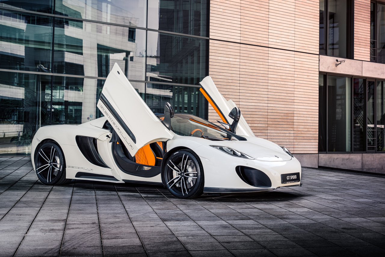 State Auto Insurance Reviews >> McLaren 12C Spider worked over by Gemballa - Autoblog