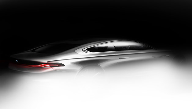 BMW Pininfarina Gran Lusso Coupe - rear three-quarter rendering