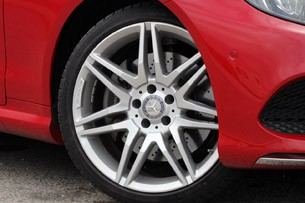 2014 Mercedes-Benz E-Class Coupe wheel