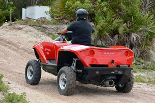 Gibbs Quadski driving