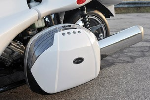 2013 Campagna T-Rex 16S side storage