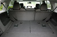 2014 Acura MDX rear cargo area