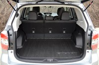 2014 Subaru Forester XT rear cargo area
