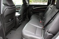 2014 Acura MDX rear seats