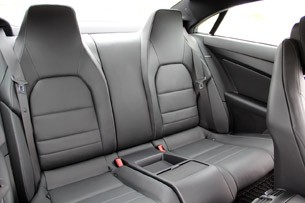 2014 Mercedes-Benz E-Class Coupe rear seats