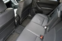 2014 Subaru Forester XT rear seats