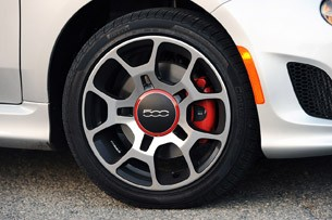 2013 Fiat 500 Turbo wheel