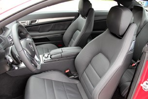 2014 Mercedes-Benz E-Class Coupe front seats