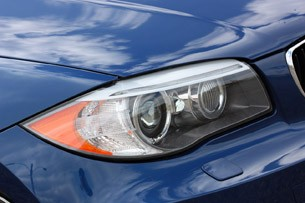 2013 BMW 135is headlight