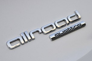 2013 Audi Allroad 2.0T Quattro badge