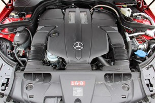 2014 Mercedes-Benz E-Class Coupe engine