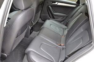 2013 Audi Allroad 2.0T Quattro rear seats