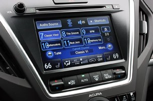 2014 Acura MDX infotainment system