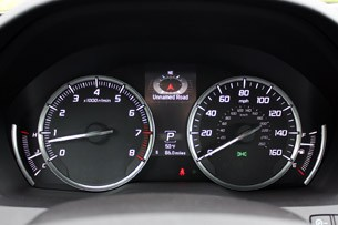 2014 Acura MDX gauges