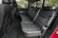 2014 Chevrolet Silverado rear seats