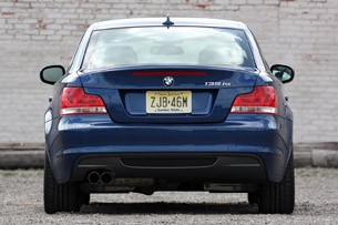 2013 BMW 135is rear view