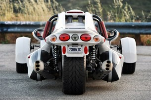 2013 Campagna T-Rex 16S rear view