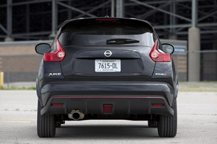 2013 Nissan Juke Nismo rear view
