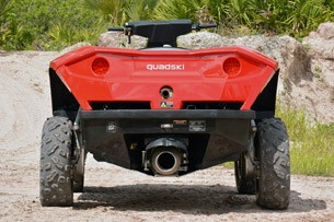 Gibbs Quadski rear view
