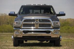 2013 Ram 3500 HD front view