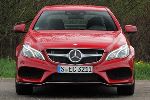 2014 Mercedes-Benz E-Class Coupe front view