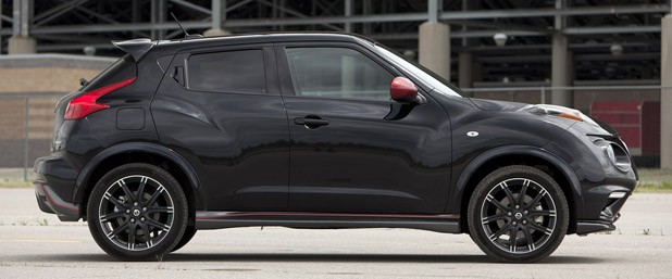 2013 Nissan Juke Nismo side view