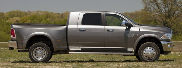 2013 Ram 3500 HD side view