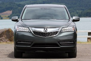 2014 Acura MDX front view