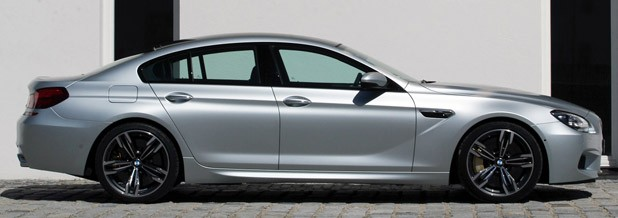 2014 BMW M6 Gran Coupe side view