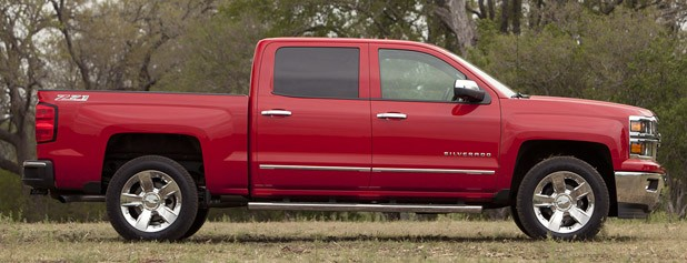 2014 Chevrolet Silverado side view