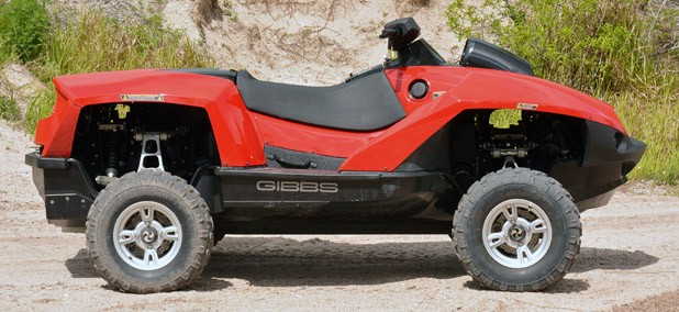 Gibbs Quadski side view