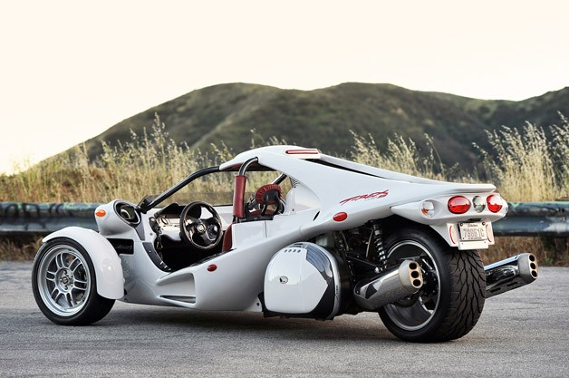 2013 Campagna T-Rex 16S rear 3/4 view
