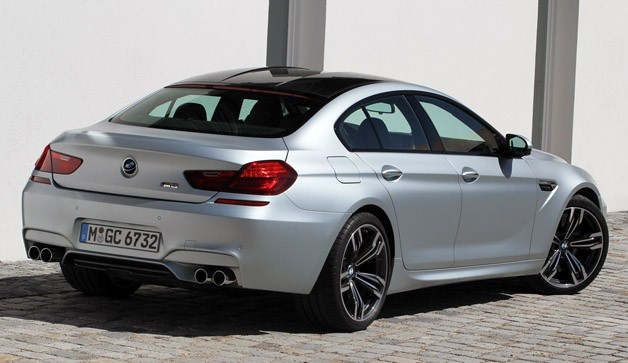 2014 BMW M6 Gran Coupe Rear 3 4 View