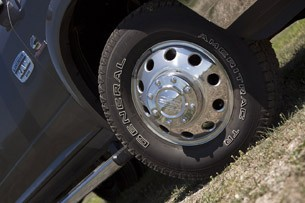2013 Ram 3500 HD wheel