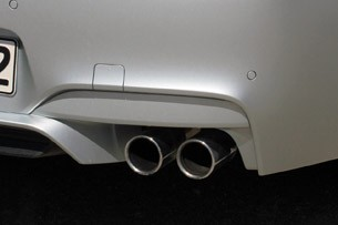2014 BMW M6 Gran Coupe rear fascia