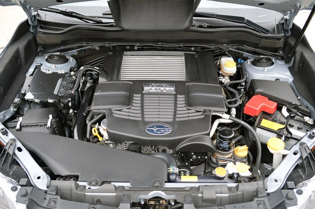 2014 Subaru Forester XT engine