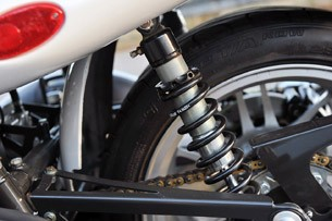 2013 Campagna T-Rex 16S rear suspension