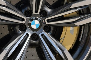2014 BMW M6 Gran Coupe wheel detail