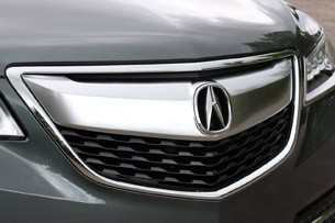 2014 Acura MDX grille
