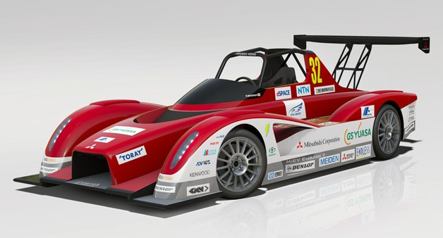 Mitsubishi confirms span of MiEV Evolution II electric racecars for Pikes Peak