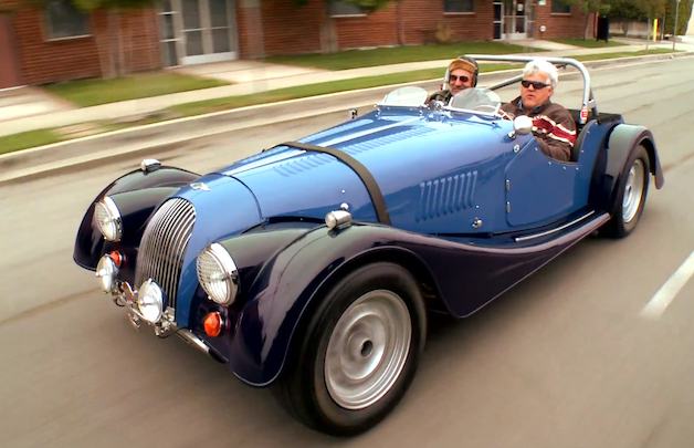 Morgan Plus 8 Hot Rod in Jay Leno's Garage