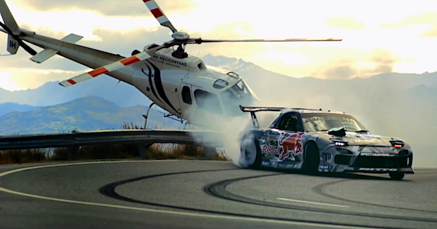 Red Bull Crown Range drifting by Mad Mike