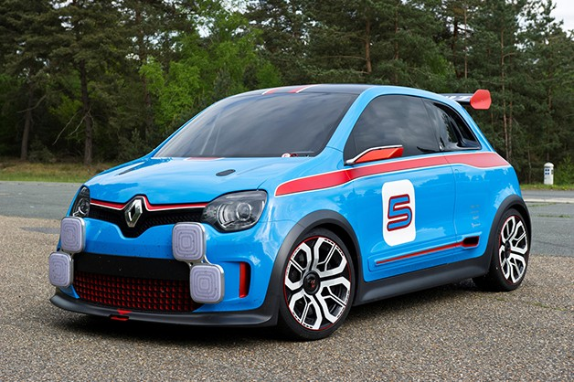 Renault Twin'Run concept - front three-quarter view