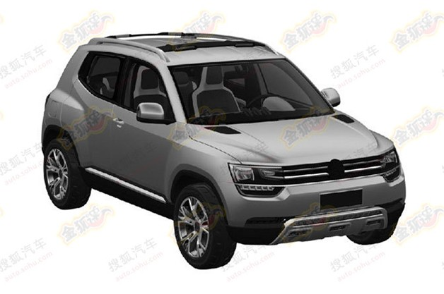 Production Volkswagen Taigun crossover held in obvious filing?